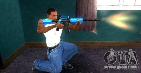 M4 RevoFX para GTA San Andreas segunda pantalla