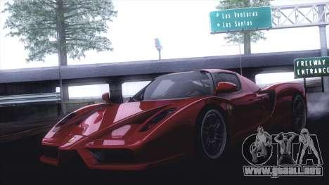 GTA SA ENB - Z.A. Project 2015 para GTA San Andreas séptima pantalla