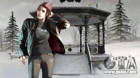 Botas de invierno para pantallas para GTA 4 novena de pantalla