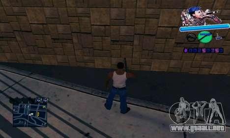 C-HUD Wiz Khalifa para GTA San Andreas tercera pantalla
