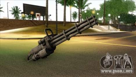 Minigun from GTA 5 para GTA San Andreas