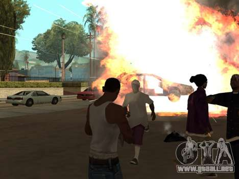 New Realistic Effects 3.0 para GTA San Andreas segunda pantalla