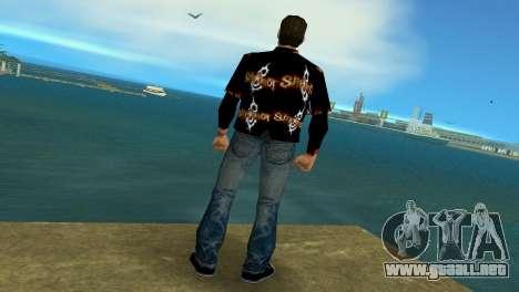 Slipknot 666 Shirt para GTA Vice City tercera pantalla