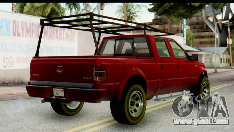 GTA 5 Vapid Sadler IVF para GTA San Andreas left
