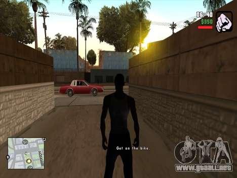 Mobile C-HUD para GTA San Andreas segunda pantalla