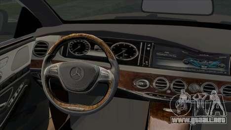 Mercedes-Benz S350 W222 2014 para la visión correcta GTA San Andreas