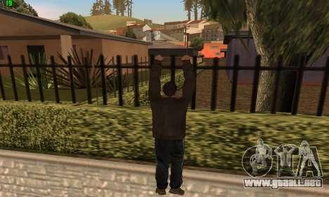 Animaciones de GTA 4 para GTA San Andreas sucesivamente de pantalla