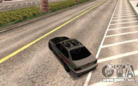 BMW M3 E36 VCDT para la visión correcta GTA San Andreas