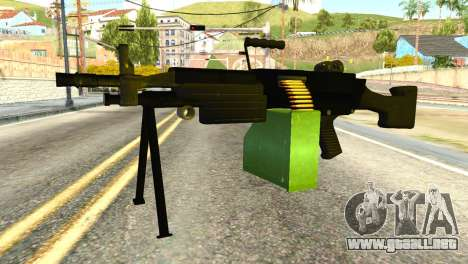 M249 Machine Gun para GTA San Andreas
