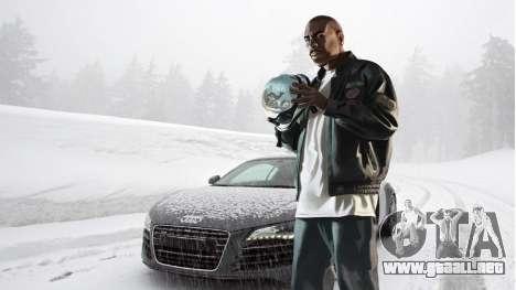 Botas de invierno para pantallas para GTA 4 octavo de pantalla