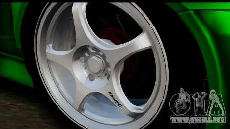 Honda Integra Type R Time Attack IVF para GTA San Andreas vista posterior izquierda
