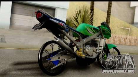 Kawasaki Ninja R Drag para GTA San Andreas left
