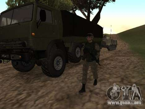 Soldados del ejército ruso en el traje de Guerre para GTA San Andreas
