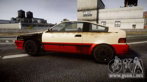 Dinka Blista Compact Beater para GTA 4 left