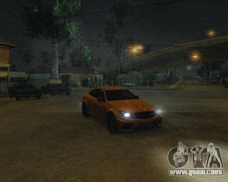 ENB by Robert v8.3 para GTA San Andreas quinta pantalla