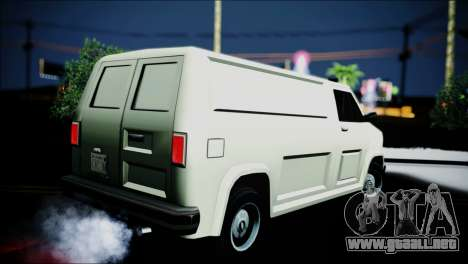 Burrito eXqable Customs para GTA San Andreas left