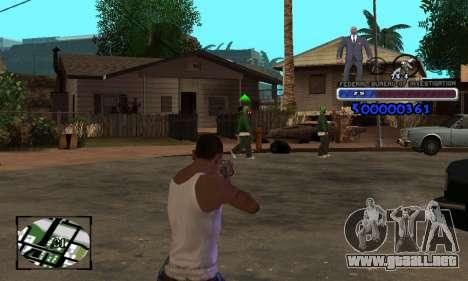 FBI C-HUD para GTA San Andreas tercera pantalla