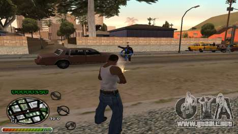 C-HUD Wonderful para GTA San Andreas