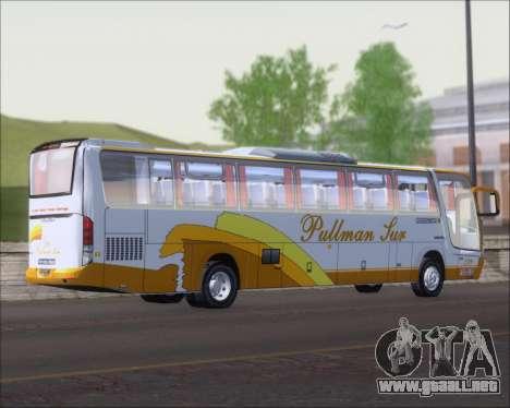 Busscar Vissta Buss LO Pullman Sur para la visión correcta GTA San Andreas