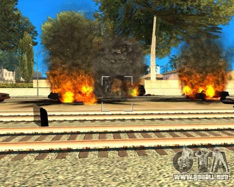 Ledios New Effects para GTA San Andreas sucesivamente de pantalla