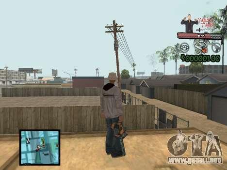 C-Hud Yakuza II para GTA San Andreas segunda pantalla