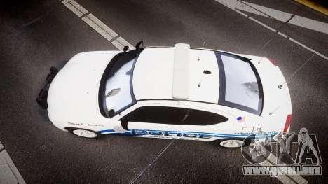 Dodge Charger 2006 LCPD [ELS] para GTA 4 visión correcta