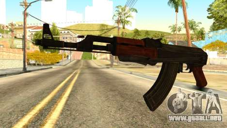 AK47 from Global Ops: Commando Libya para GTA San Andreas