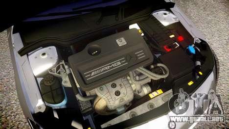 Mersedes-Benz A45 AMG PJs1 para GTA 4 vista interior
