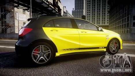 Mersedes-Benz A45 AMG PJs1 para GTA 4 left