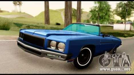 Chevy Caprice 1975 Beta v3 para GTA San Andreas