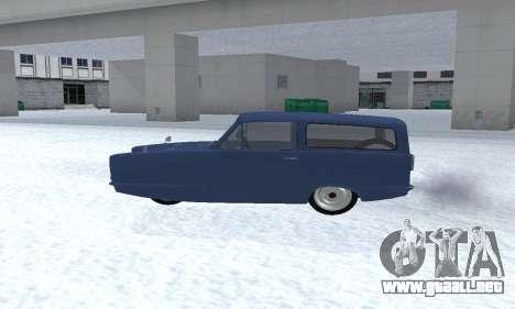 Reliant Supervan III para la visión correcta GTA San Andreas