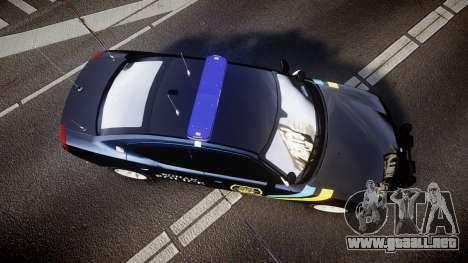 Dodge Charger 2006 Sheriff Bohan [ELS] para GTA 4 visión correcta