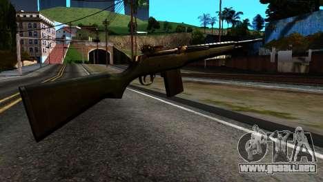 New Rifle para GTA San Andreas segunda pantalla