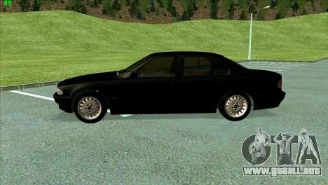 BMW 730i para visión interna GTA San Andreas
