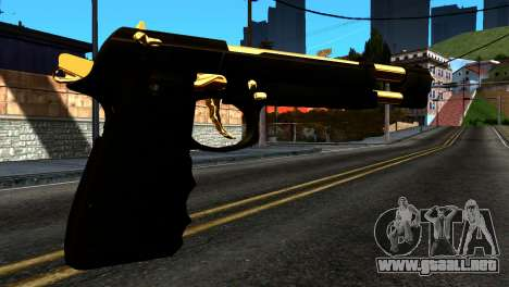 New Desert Eagle para GTA San Andreas segunda pantalla