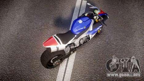Yamaha YZF-R1 Custom PJ2 para GTA 4 visión correcta