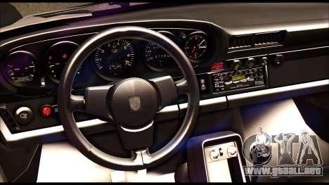 Porsche 911 1980 Winter Release para visión interna GTA San Andreas