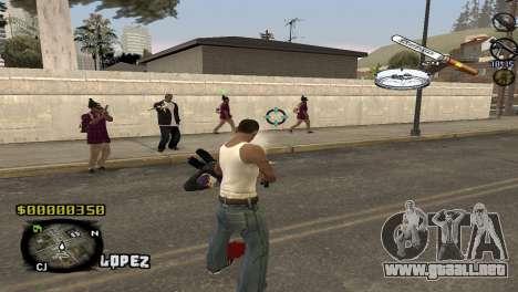 C-HUD Sigara para GTA San Andreas segunda pantalla