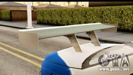 BMW M3 E46 GTR NFS MW para la visión correcta GTA San Andreas