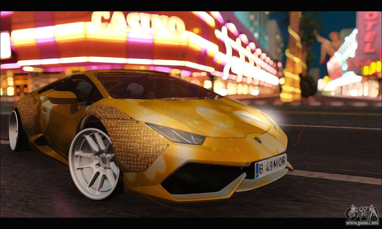 lamborghini huracan lb solar para gta san andreas. Black Bedroom Furniture Sets. Home Design Ideas