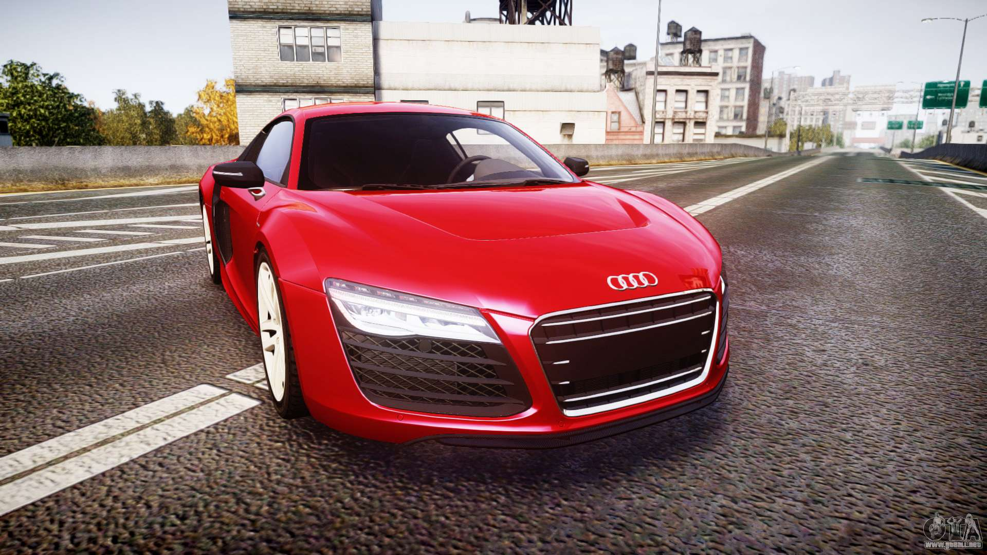 audi r8 e tron 2014 para gta 4. Black Bedroom Furniture Sets. Home Design Ideas