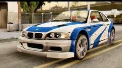 BMW M3 E46 GTR NFS MW