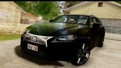 Lexus GS350 Indonesian Police para GTA San Andreas