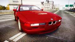 BMW E31 850CSi 1995 [EPM] Castrol Red para GTA 4