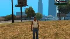 Indicador numérico de HP para GTA San Andreas