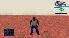 C-HUD Wiz Khalifa para GTA San Andreas