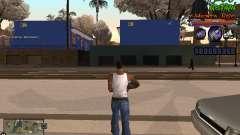 C-HUD Les Alterman para GTA San Andreas