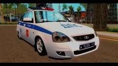 VAZ 2172 de la Policía
