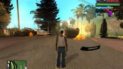 C-HUD Tawer Ghetto para GTA San Andreas