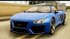 GTA 5 Obey 9F Cabrio